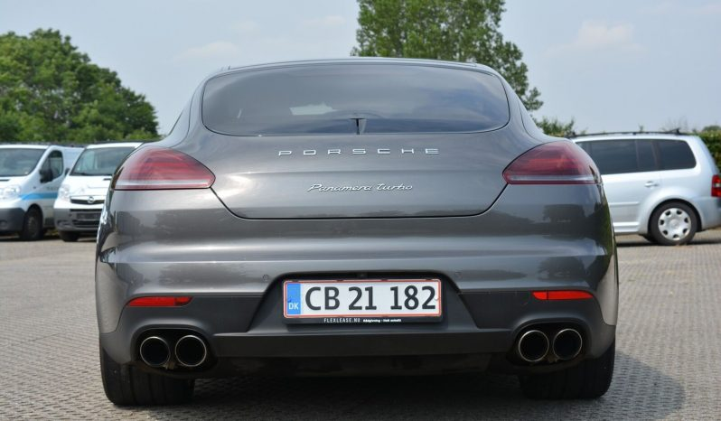 Porsche Panamera Turbo 4,8 PDK full